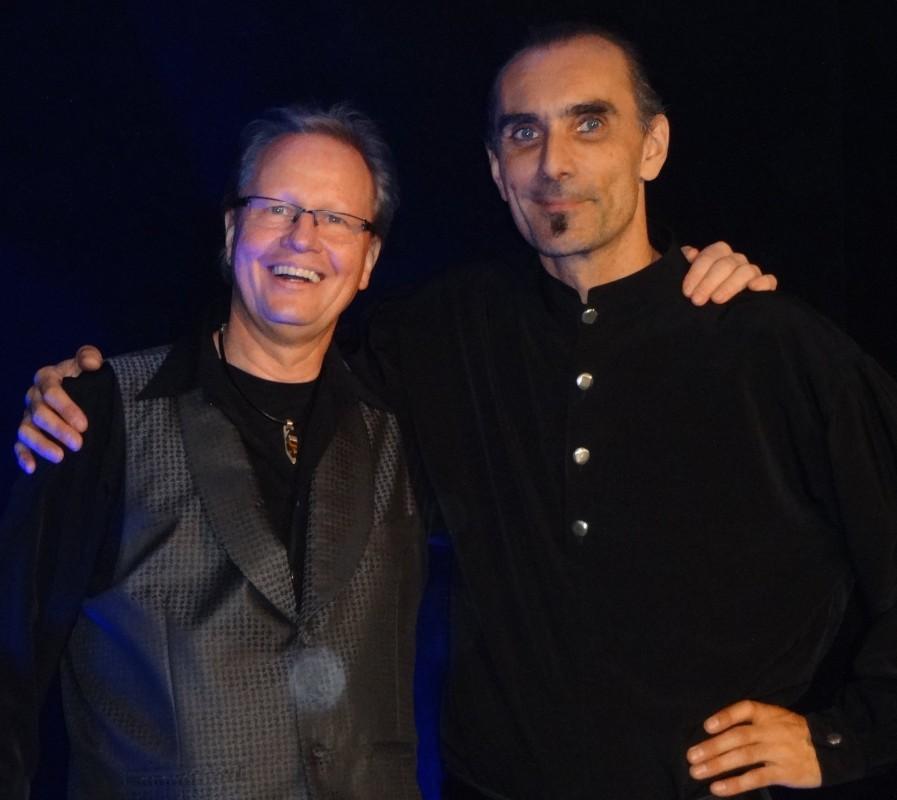 Jürgen Metzger mit Christoph Borer Schweiz