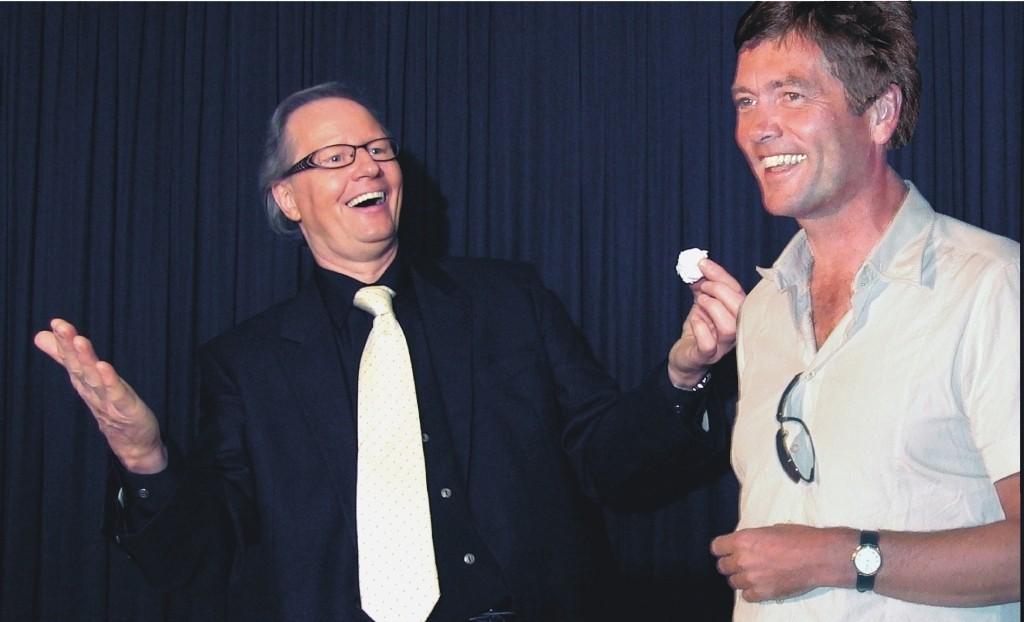 Dr Prange Servietten2 Jürgen Metzer Zauberer aus Waldenbuch bei Stuttgart