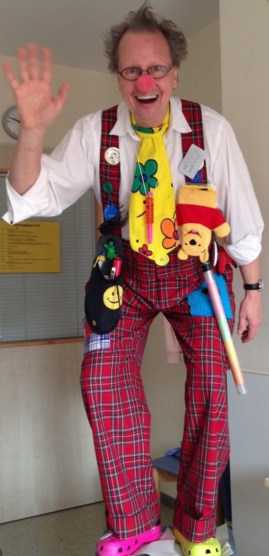 Clown Quatsch Stuttgart macht Spaß